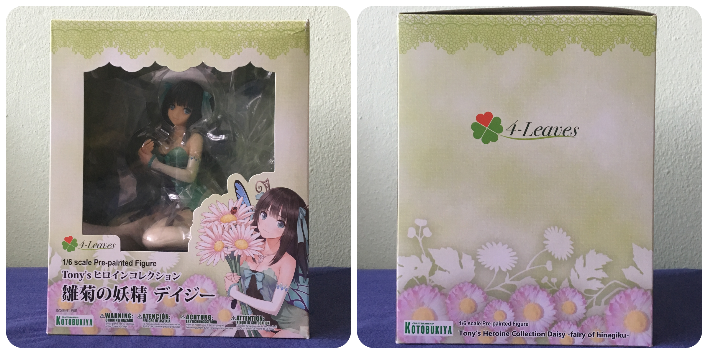 Kotobukiya 4-Leaves Tonys Heroine Collection Hinagiku no Yousei Daisy 1//6 Figure