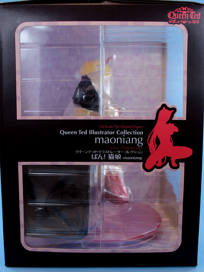 Queen Ted Illustrator Collection Ban Cat Girl maoniang 1//6 PVC Figure