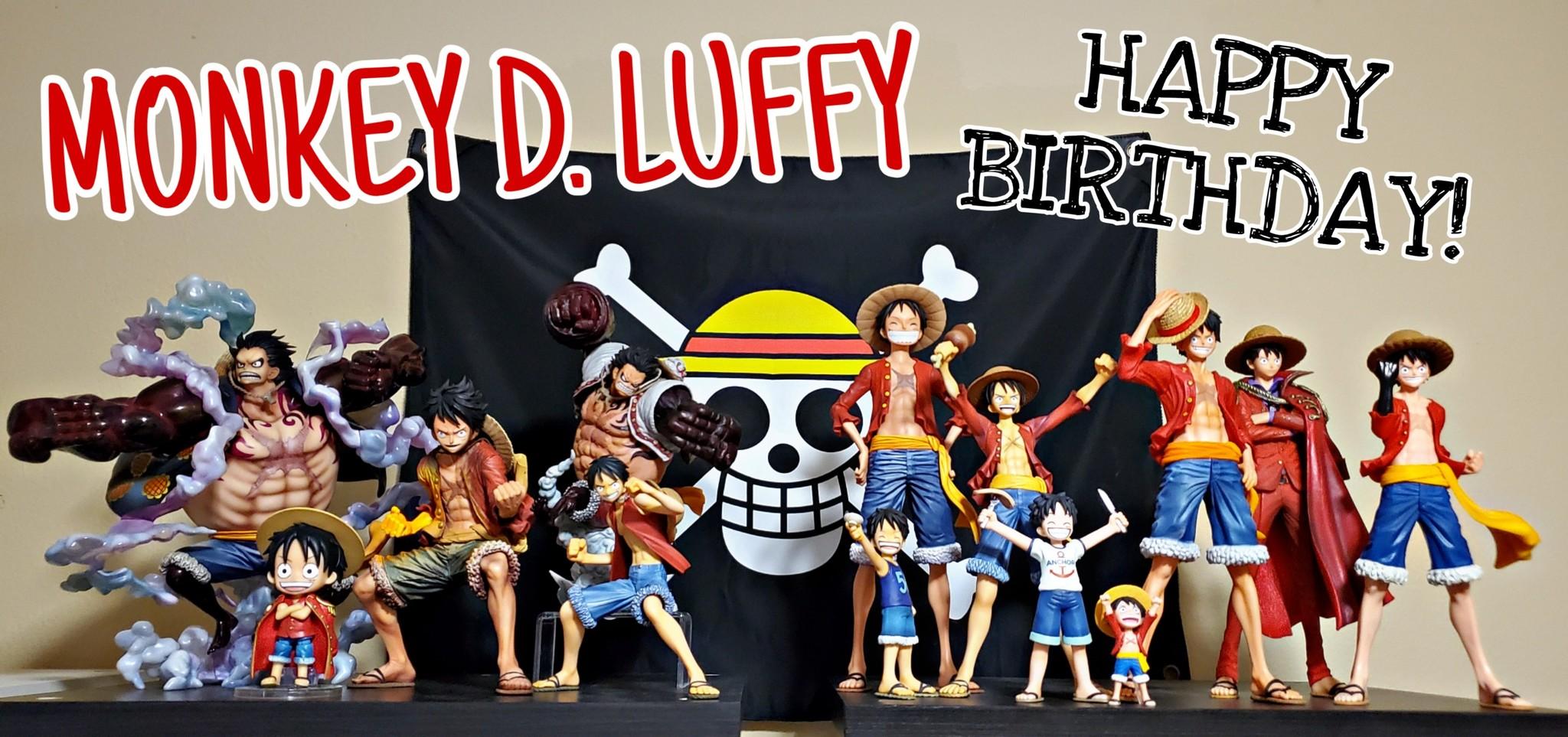Happy Birthday Luffy Myfigurecollection Net