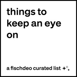 things to keep an eye on
