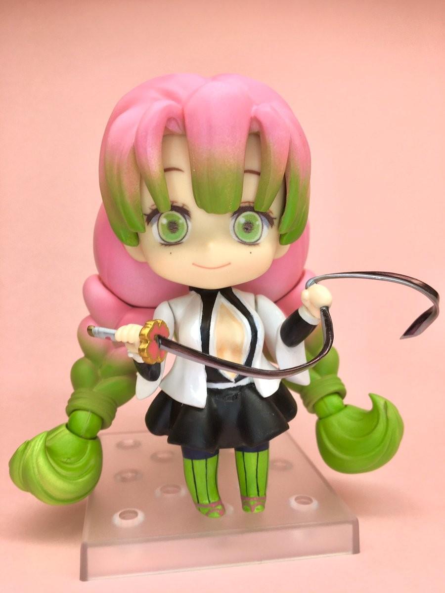 Nendoroid Custom Kimetsu No Yaiba Kanroji Mitsuri Myfigurecollection Net .no yaiba kochou shinobu rengoku kyoujurou kanroji mitsuri figures keychain pendant xmas toys. myfigurecollection net