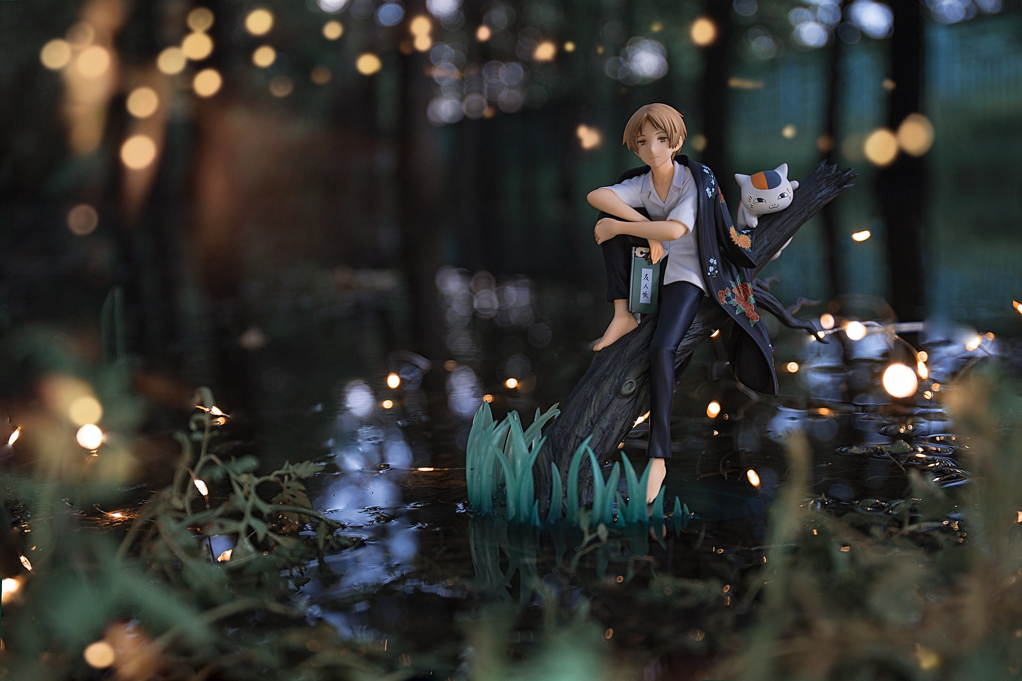 Just a whisper of the forest and the twinkle of fireflies. Spark
