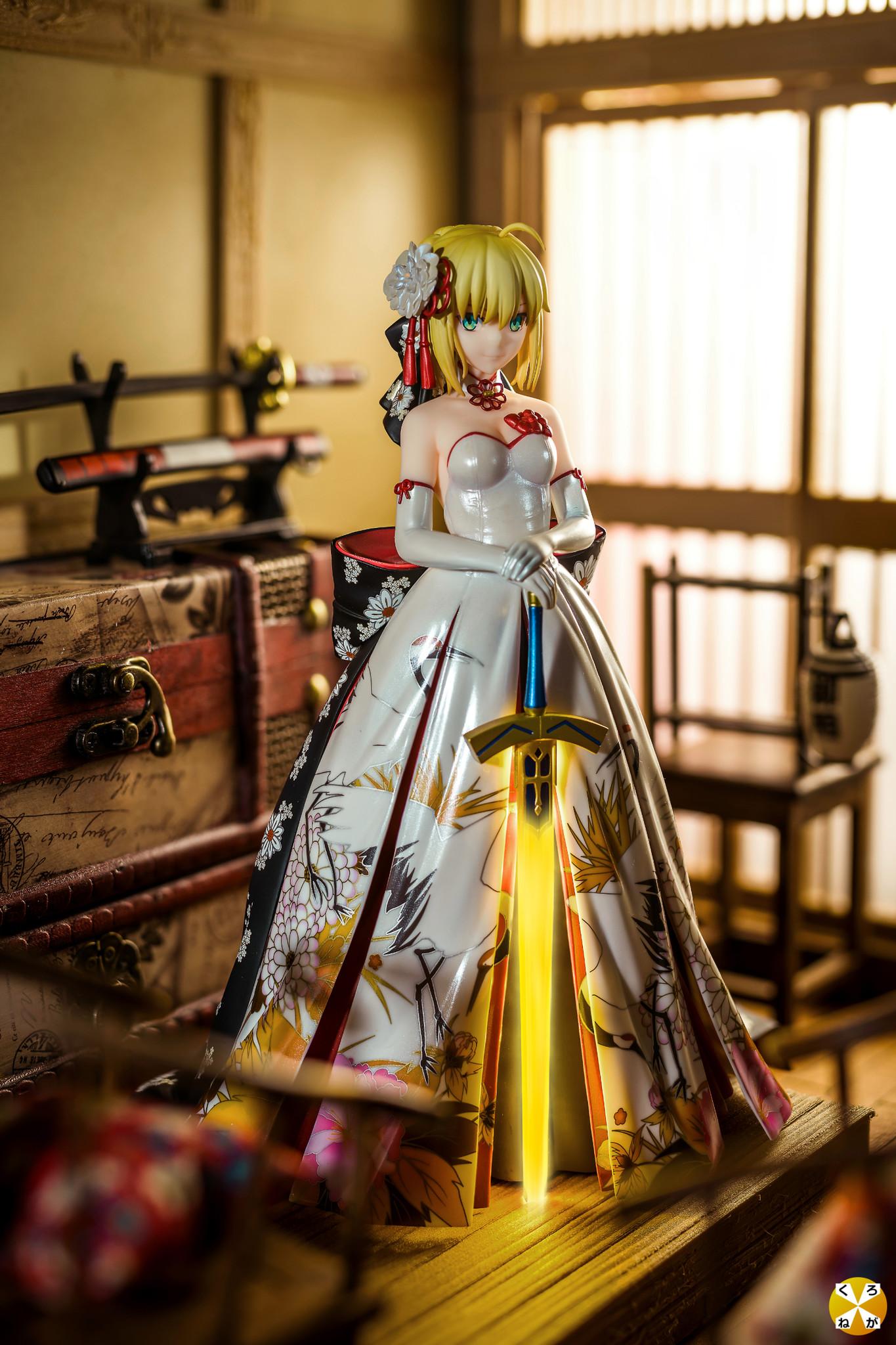 Saber Kimono Dress