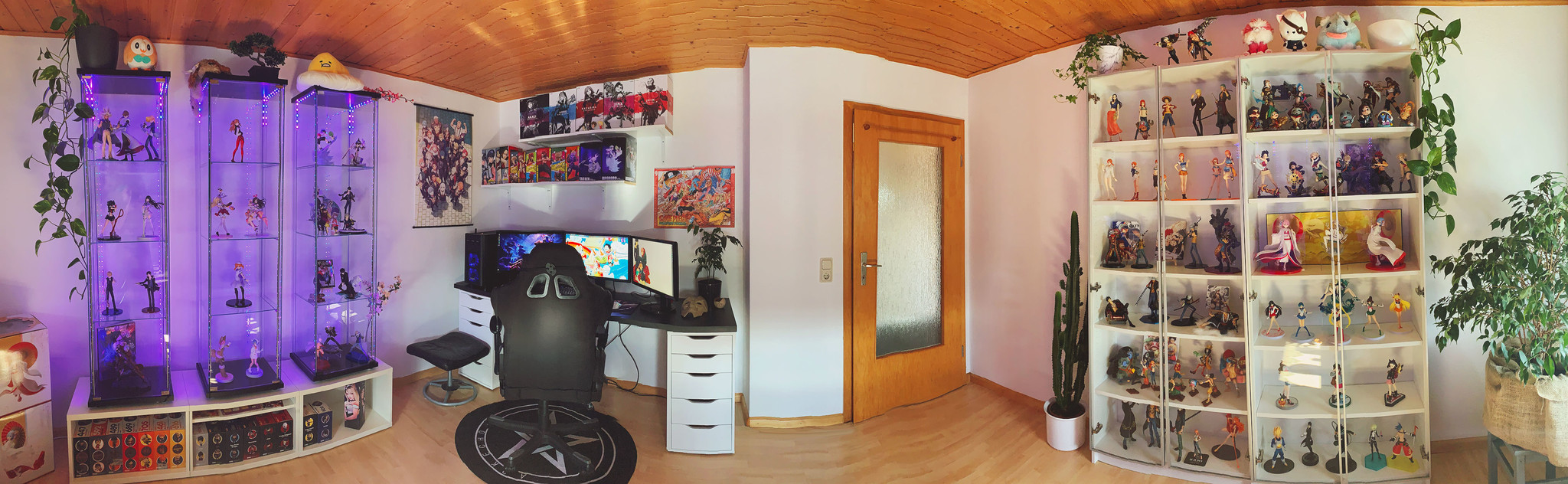 Panorama view of PC room (October 2021).